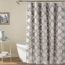 Lush Shower Curtains Lush Decor 72 Inch X 72 Inch Ruffle Shower Curtain Bed
