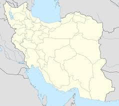 map iran template iranian insurgency detailed map