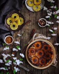 upside down pineapple cake bake with shivesh