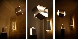Creative Light Fixtures Innovative Transformable Lamp Those Create New Light Room