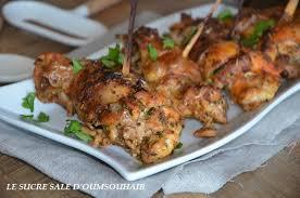 cuisiner cuisse de poulet au four cuisses de poulet roulées le sucré salé d oum souhaib