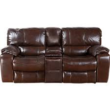 sanderson walnut leather reclining sofa leather sofas brown