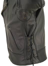 biker jacket vest beltless biker jacket hillside usa leather