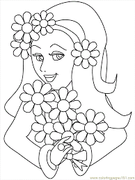 toddler coloring pages the sun flower pages