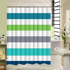 Blue And White Striped Shower Curtain Online Get Cheap Rainbow Shower Curtain Aliexpress Com Alibaba