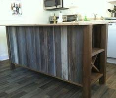 reclaimed wood kitchen island reclaimed wood island surround google search gladney