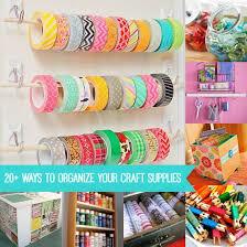 Organize A Craft Room - how to organize craft supplies 20 ideas diycandy com