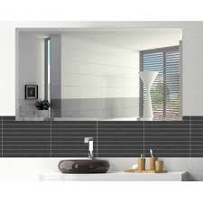 Beveled Mirrors For Bathroom Modern Bathroom Mirrors Allmodern
