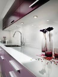 credence de cuisine en verre credence de cuisine en verre laque blanc perle cuisine