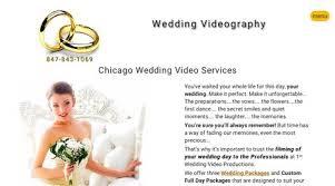 Chicago Wedding Videographer Wedding Videographers Wedding Videography Wedfolio