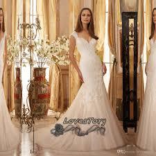 2017 latest design lace wedding dress mermaid vestido de noiva