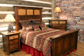 Rustic Bedroom Ideas Rustic Bedroom Designs White Floral Bed Sheet Placed Lamp Standing