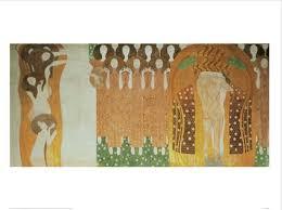 Frieze Rug Beethoven Frieze Art Print By Gustav Klimt At Art Com