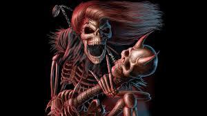 halloween desktop theme death metal 390100 walldevil