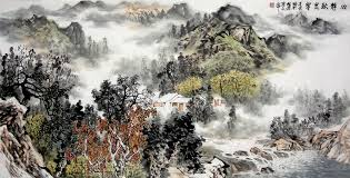 landscape painting artists asian painting traditional landscape painting
