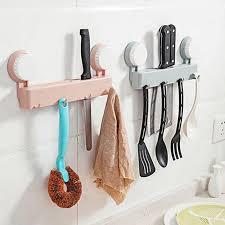 fourniture de cuisine urijk multi fonction ventouse porteurs de stockage cuisine outils