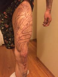 biomechanical outline from today bohemian tattoo 1731 main st