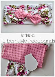 tutorial tuesday diy turban style headband by simple as that