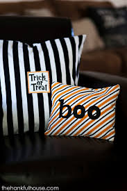halloween target dollar bin tea towel pillows see vanessa craft