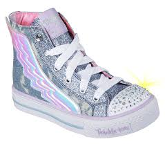 skechers womens light up shoes buy skechers twinkle toes shuffles flutter up s lights shoes only