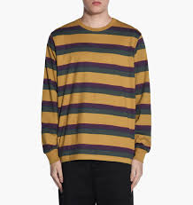 Dsc 0403 Jpg Stussy Ombre Stripe Jersey Khaki Langärmelige T Shirts