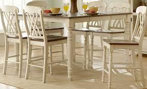homelegance ohana counter height dining set white d1393w 36