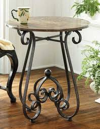 Iron Accent Table Gorgeous Wrought Iron Accent Table With 89 Best Wrought Iron