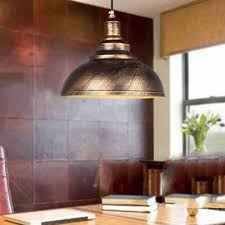 Dome Pendant Light Industrial Pendant Light With Bronze Metal In Dome Beautifulhalo Com