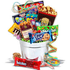 junk food basket gift baskets for boys ideas from major gift basket store