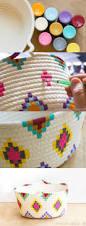 25 Unique Chalk Spray Paint by 25 Unique Painted Baskets Ideas On Pinterest Diy Crochet