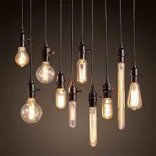 Edison Pendant Light Enchanting Vintage Edison Bulb Pendant L Chandeliers Ceiling Of