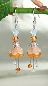 earrings ideas 190 best lucite jewellery images on flower jewelry