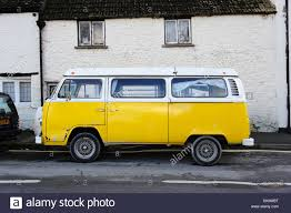 volkswagen yellow volkswagen camper van yellow hippy hippies camping vw festivals