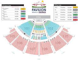 United Center Seating Map The Cynthia Woods Mitchell Pavilion Season Seats