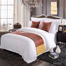 hotel bed scarf hotel bed scarf suppliers and manufacturers at