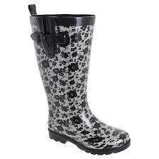 target womens boots wide calf s capelli blooms wide calf boots black 9wc
