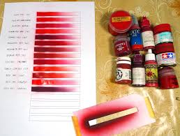red paints comparison chart u2013 fantasygames com pl