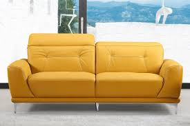 butter yellow leather sofa yellow leather couch awesome modern sofa for 1 westmontcatering com
