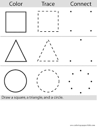 coloring shapes worksheet free worksheets library download and