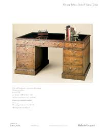 holland u0026 company writing tables desks u0026 game tables