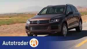 volkswagen jeep 2013 2013 vw touareg tdi suv 5 reasons to buy autotrader youtube