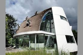 Futuristic Design Exterior Outdoor Decoration Architecture Design Ideas Dutch Modern