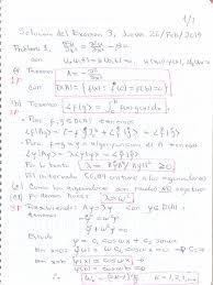 solucionario examen ecuaciones diferenciales parciales