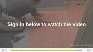 Bathroom Waterproofing Tile A Barrier Free Bathroom Waterproof Membrane Fine Homebuilding