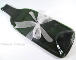 flattened wine bottle platter wine bottle cheese trays etsy