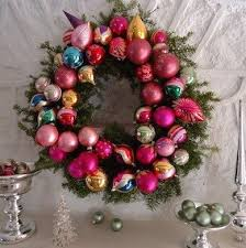 how to make a wreath with vintage ornaments bob vila
