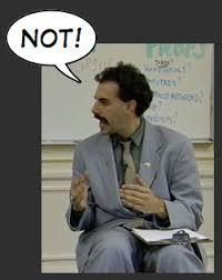 Borat Not Meme - dumbbell press touch the dumbbells or not bodybuilding com forums