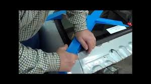 pickup truck rear window replacement youtube