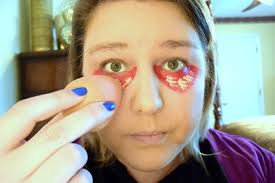 halloween makeup dark circles under eyes images