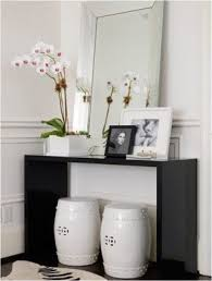 Black Console Table Modern Black Console Table Foter